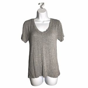 Honeydew Intimates | Gray T-shirt W/ Lace Sides